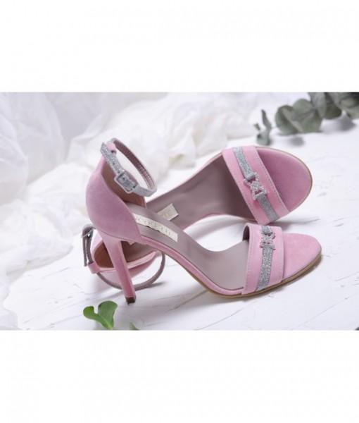 sandale-roz-pastel-cu-accesoriu-cu-pietricele-piele-naturala (1)