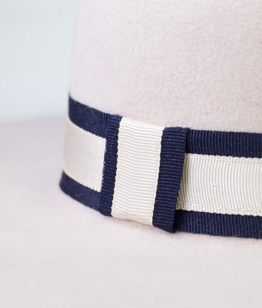 Detaliu-Palarie-Dama-Alba-Sailor