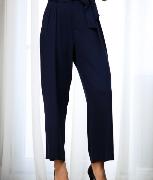 Pantaloni-Dama-Office-De-Vara-Bleumarin