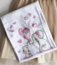 tricou-din-bumbac-alb-cu-imprimeu-de-elefanti
