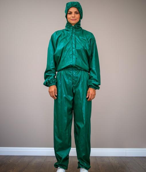 Combinezon-De-Protectie-Verde