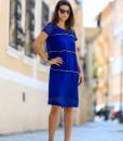 rochie eleganta albastra (2)