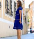 rochie eleganta albastra (3)