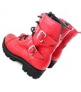 red-boots-ghete-piele-naturala (2)