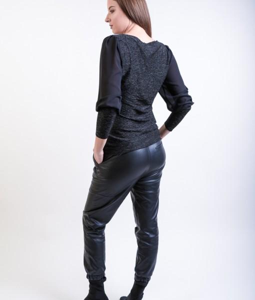 Bluza-Dama-Catifea-Neagra