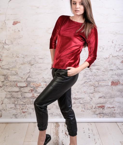 bluza-eleganta-catifea-rosie (1)