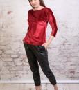 bluza-eleganta-catifea-rosie (2)