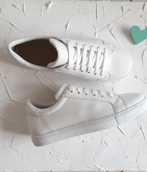 Pantofi-Sport-Dama-Piele-Alba
