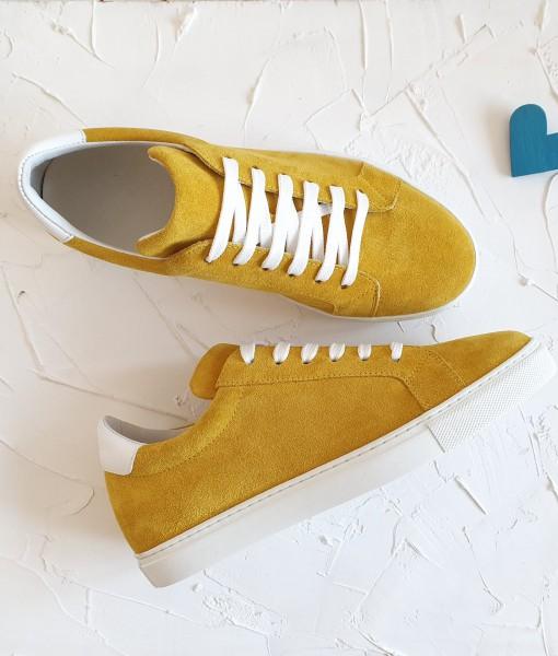 Pantofi-Sport-Dama-Galben