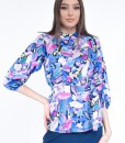 Bluza-Dama-Colorata-Flori