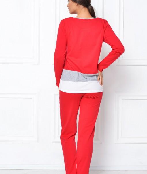 Pijamale-Dama-Rosie-Bumbac