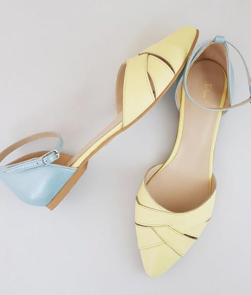 balerini-decupati-din-piele-naturala-galben-cu-bleu-gandahar-21299-4