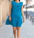 Rochie-Baby Doll-Turqoise-Natalee