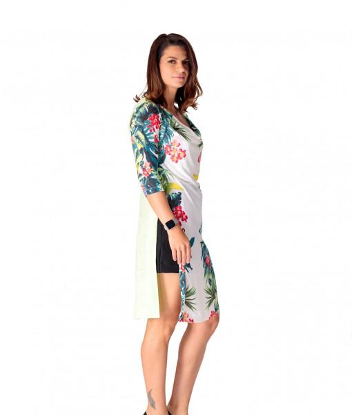 Bluza Dama Imprimeu Floral Giorgal