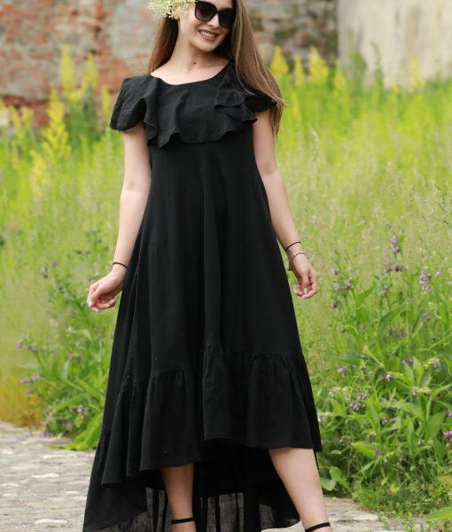 doua-rochii-suprapuse-asimetrice-din-panza-topita-neagra (8)