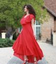 doua-rochii-suprapuse-asimetrice-din-panza-topita-rosie