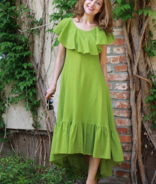 doua-rochii-suprapuse-asimetrice-din-panza-topita-verde (10)