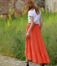 fusta-gipsy-din-panza-topita-portocalie (5)