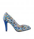 Pantofi Din Piele Naturala Imprimata Diane Marie