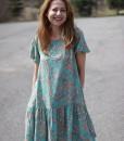 rochie-lejera-cu-maneca-scurta-bleu-cu-imprimeu (8)
