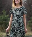 rochie-lejera-cu-maneca-scurta-negru-cu-imprimeu (3)