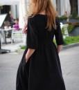 rochie-neagra-midi-din-vascoza-plina (4)