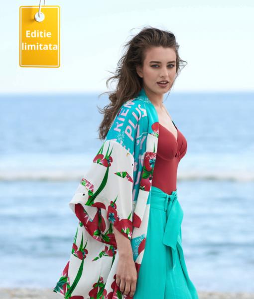 Kimonoul De Vara Cu Maneci Lungi Komoda