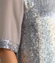 Bluza eleganta din paiete argintii, Paula