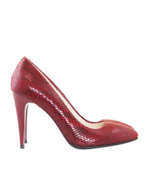 Pantofi Eleganti cu Toc Subtire Piele Naturala Diane Marie