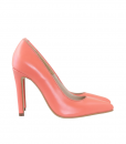 Pantofi Dama Cu Toc Subtire Din Piele Naturala Diane Marie