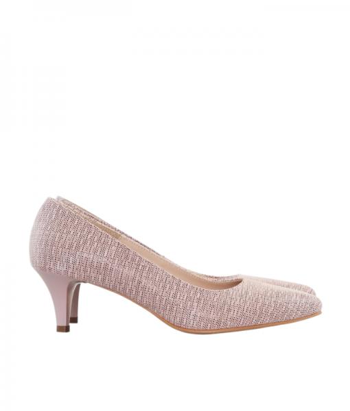 Pantofi Dama Stiletto Bej Diane Marie