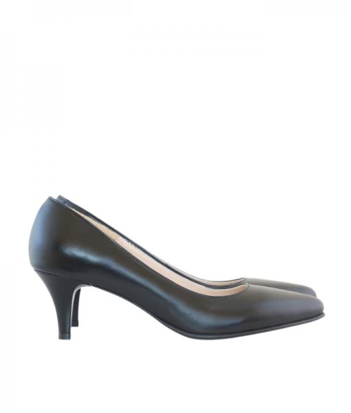 Pantofi Dama Toc Comod Din Piele Naturala Diane Marie