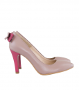 Pantofi Stiletto Cu Funda la Spate Din Piele Naturala Diane Marie