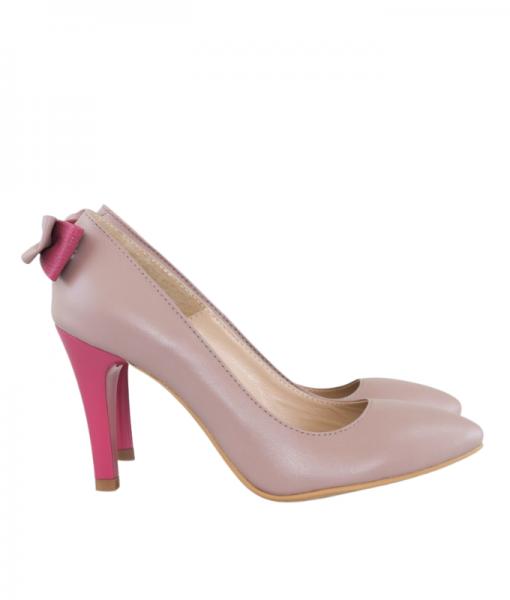 Pantofi stiletto cu funda la spate, Malena