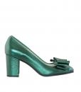 Pantofi Dama Cu Toc Comod Piele Naturala Diane Marie