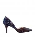 Pantofi Stiletto Din Piele Naturala Mov Diane Marie