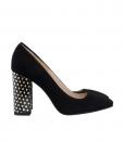 Pantofi Dama De Ocazie Din Piele Intoarsa Diane Marie