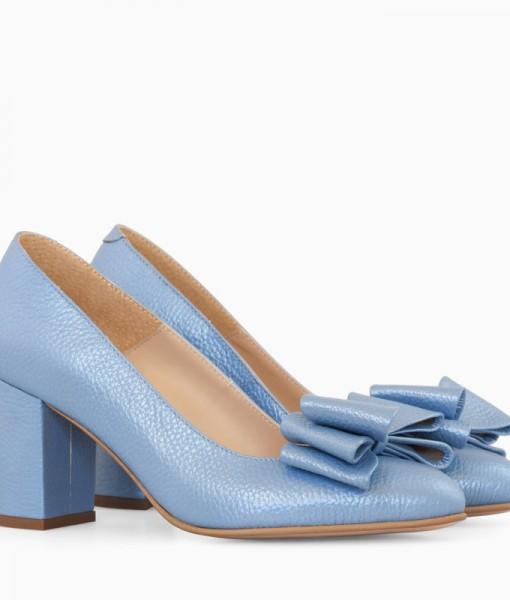 Pantofi Dama Bleu cu Fundita Diane Marie