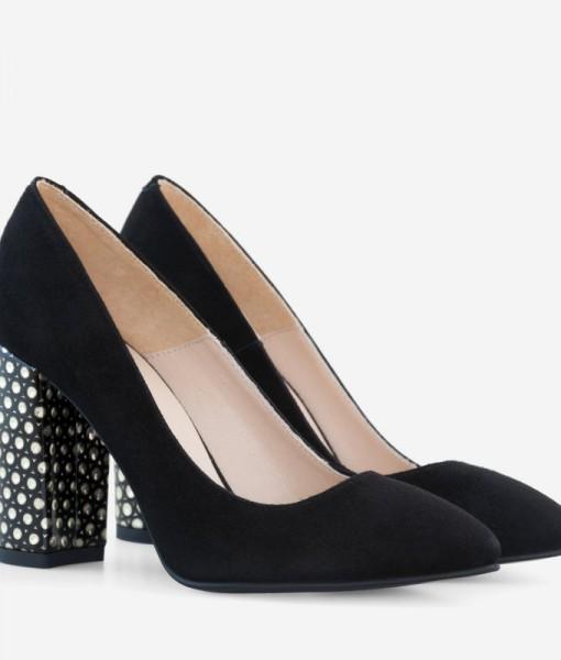 Pantofi Eleganti Cu Toc Gros Diane Marie