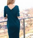 rochie-casual-albastru-petrol-din-bumbac-cu-buzunare (1)