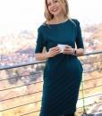 rochie-casual-albastru-petrol-din-bumbac-cu-buzunare (3)