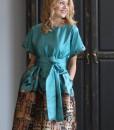 rochie-de-ocazie-din-material-satinat-imprimat-predominant-turcoaz (1)