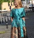 rochie-de-ocazie-din-material-satinat-imprimat-predominant-turcoaz (5)