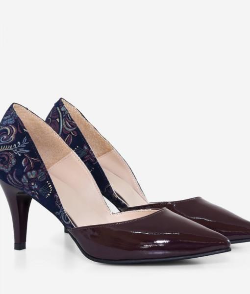 Pantofi Dama Piele Naturala Lacuita Diane Marie