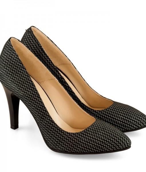 Pantofi Office Negri Din Piele Diane Marie