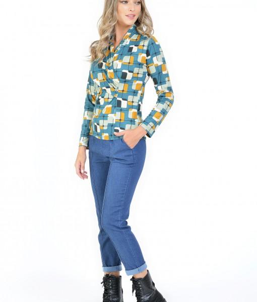 Bluza Multicolor Maneci Lungi (2)
