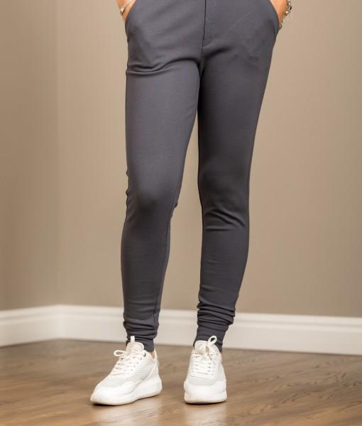 pantaloni dama conici-fata