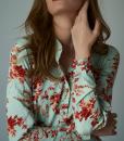 rochie-lunga-turcoaz-deschis-cu-flori